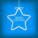 Simple vector christmas card Royalty Free Stock Photo