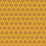 Simple vector design pattern tiny elements orange vector illustration