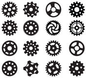 Simple vector gears Stock Photo