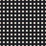 Vector seamless pattern with small curved square shapes. Royalty Free Stock Photos