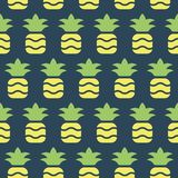 Simple vector illustration with ability to change. Pattern with juicy pineapples. Pattern with juicy pineapples. Simple vector illustration with ability to stock illustration