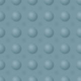 Simple vector pattern with convex and concave Stock Image