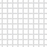Simple vector pattern - elements with teeth Royalty Free Stock Images