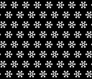 Simple vector seamless texture, geometrical hexagonal floral fig. Monochrome geometric seamless pattern, simple vector texture with white geometrical hexagonal Royalty Free Stock Photography