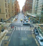 A simple view from Hunter College Stock Image