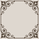 Simple vintage frame Royalty Free Stock Photography