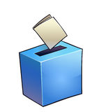 Simple vote box. Royalty Free Stock Image