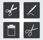 Simple web icon in : office equipment Royalty Free Stock Photos