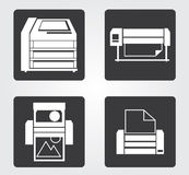 Simple web icon in : office equipment Royalty Free Stock Photo