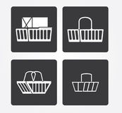 Simple web icon in : office equipment Stock Images