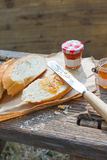 Simple western style breakfast Stock Images
