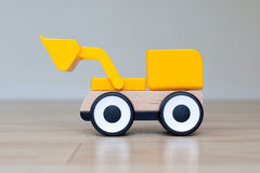 Simple wheel dozer toy Royalty Free Stock Photography
