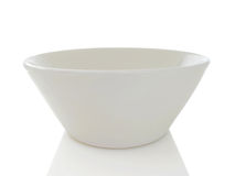 Simple White Bowl Royalty Free Stock Photography