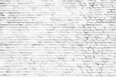 White brick wall background. Simple white and grey brick wall as seamless surface pattern texture background. Vector illustration. royalty free illustration