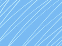 Simple white lines on light blue background Stock Photography