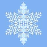 Simple White Snowflake Royalty Free Stock Image