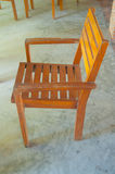 Simple wooden chair Stock Photos