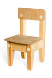 Simple wooden chair Royalty Free Stock Images