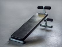 Simple workout bench Stock Photography