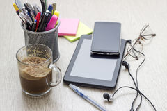 Simple workspace Stock Image