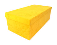 Simple yellow box Stock Photography