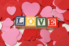 Simplement amour Photos stock