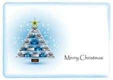 Simplemente tarjeta de Navidad Fotos de archivo