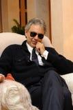 Andrea Bocelli fotos de archivo libres de regalías