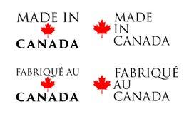 Simples faits dans le Canada/ illustration libre de droits