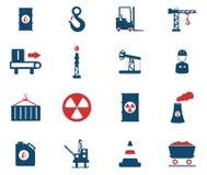 Simplesmente ícones industriais Imagens de Stock