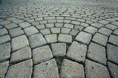Simpletexture gris de route de brique Image libre de droits
