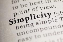simplicité image stock