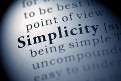 Free Simplicity Royalty Free Stock Photo - 50755875