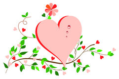 Simplicity Heart. Royalty Free Stock Photography