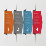 Simplicity infographic design Royalty Free Stock Photo