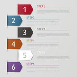 Simplicity infographic design Stock Photo