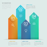 Simplicity infographic template Stock Photo