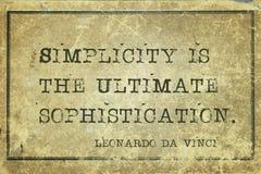 Free Simplicity Is DaVinci Stock Photos - 116927543