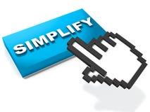 Simplifiez illustration libre de droits