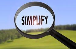 simplifique fotos de archivo