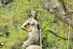 Simplon park statue Stock Photography