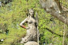 Simplon park statue Stock Photography
