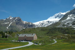 Simplon pass Stock Images