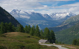 The Simplon Pass Stock Photography