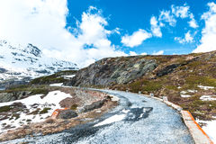 Simplon Pass, Italy Stock Image