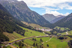 Simplon pass Royalty Free Stock Image