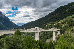 SIMPLON PASS, SWITZERLAND/ EUROPE - SEPTEMBER 16: View from the Royalty Free Stock Images