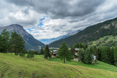 SIMPLON PASS, SWITZERLAND/ EUROPE - SEPTEMBER 16: View from the Stock Photography