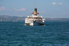 Simplon steamboat Stock Photo
