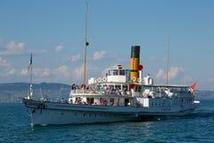 Simplonstoomboot royalty-vrije stock foto